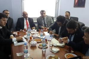 Erzurum Milletvekili Prof. Dr. Mustafa ILICALI ve Beraberindeki Yatırımcı Heyet ATA Teknokent'i Ziyaret Etti.
