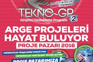 TEKNO GP-2 PROJE PAZARI 2016