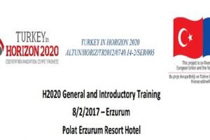AB UFUK 2020 PROGRAMI GENEL EĞiTiM VE BİLGİLENDİRME TOPLANTISI POLAT ERZURUM RESORT OTEL'DE