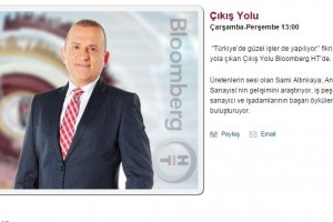 """Bloomberg HT TV """"Çıkış Yolu"""" Programı Bu Hafta ATA Teknokent'te"""