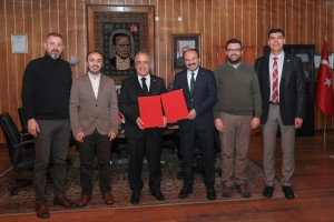 Erzurum Teknik Üniversitesiyle İş Birliği Protokolü İmzalandı