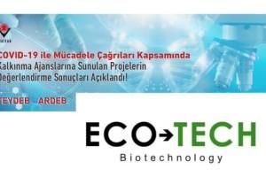 Ecotech Biyoteknoloji Firması Tübitak Tarafından Desteklenmeye Hak Kazandı