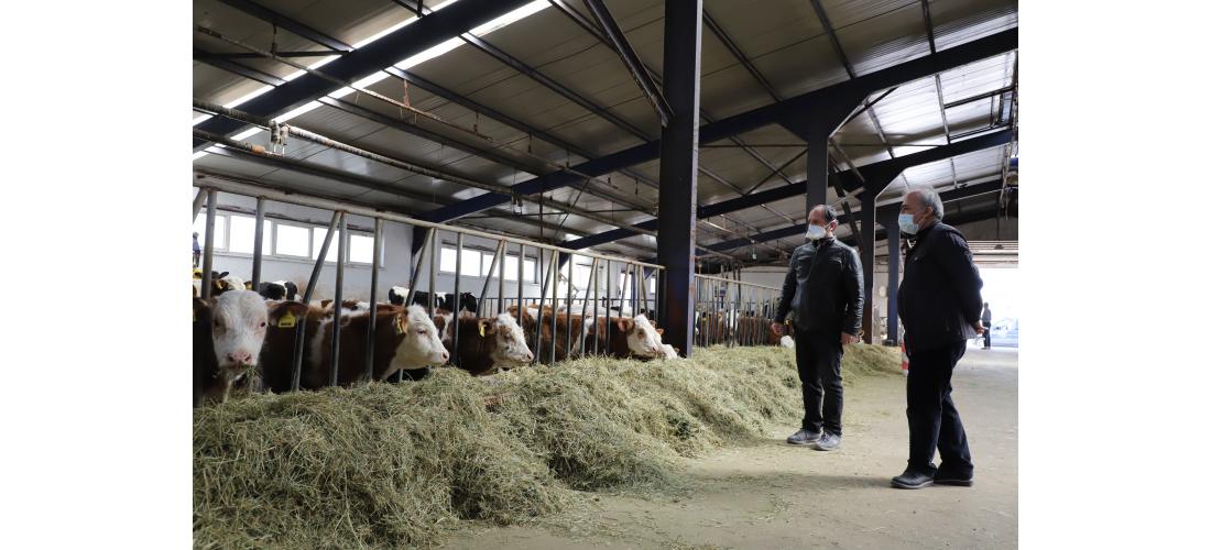 Üniversite - Çiftçi İş Birliği Devam Ediyor