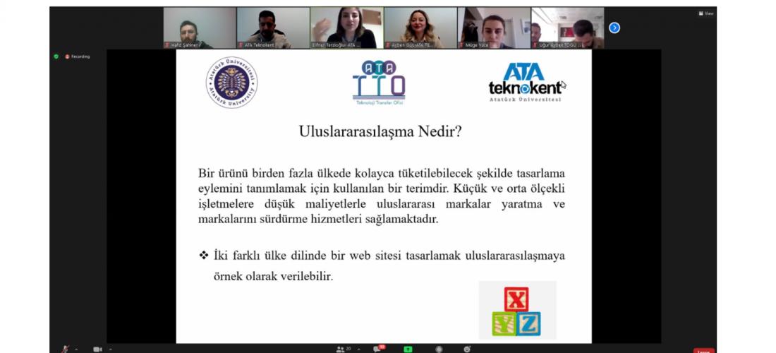 AB Projeleri Ve Uluslararasılaşmaya Yönelik Bilgilendirme Eğitimi