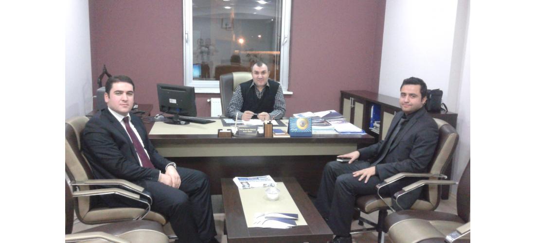 Kuzeydoğu Anadolu Kalkınma  Ajansı Temsilcileri ATA Teknokenti Ziyaret Etti