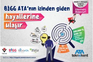 BİGG ATA Programı İle 2 Girişimci Daha Tübitak'tan 200.000 TL Hibe Desteği Almaya Hak Kazandı