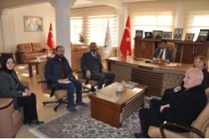 Erzurum Ticaret Borsası Ziyaret Edildi