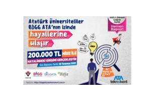 ATA Teknokent, 200.000 TL Hibe Destekli BİGG ATA Programı İle Genç ve Yenilikçi Girişimci Adaylarının Hayallerini Gerçekleştirmeye Devam Ediyor