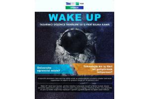 Wake UP - Tasarımcı Düşünce Teknikleri ile İş Fikri Bulma Kampı