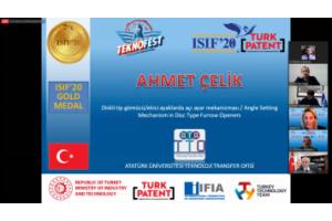 ATA TTO'nun FSMH Sürecini Yürüttüğü Atatürk Üniversitesi Buluşları Isıf 2020'yi 5 Madalyayla Tamamladı