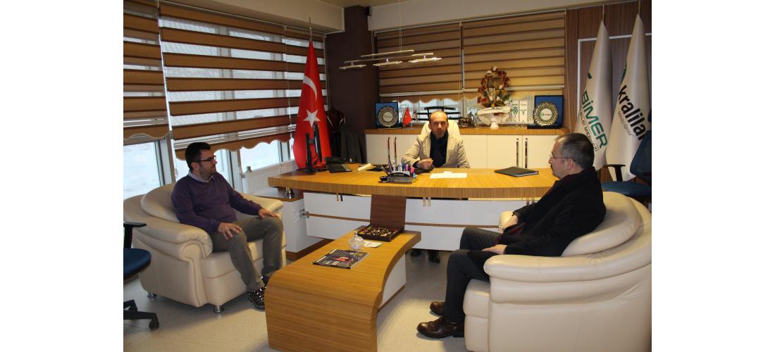 Vali Yardımcısı Mahmuthan ARSLAN'dan ATA Teknokent Ziyareti