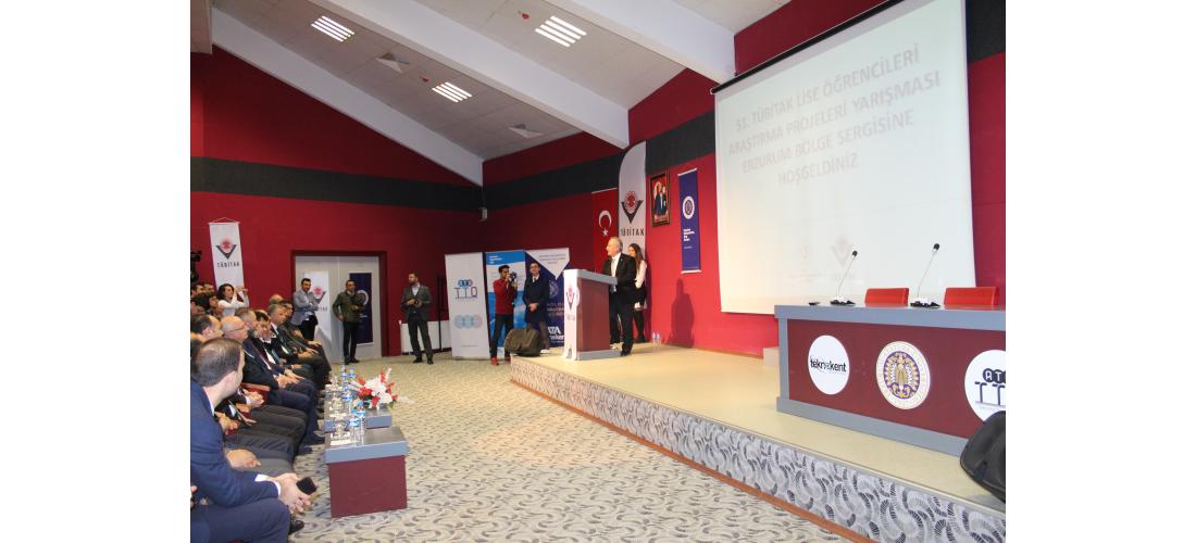 ATA Teknokent 51. TÜBİTAK Lise Öğrencileri Araştırma Projeleri Yarışması Erzurum Bölge Sergisine Ev Sahipliği Yaptı