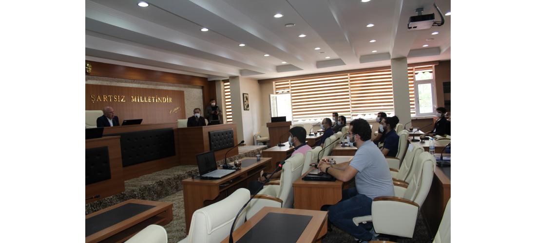 2020 TEKNOFEST Takımları İle Erzurum Büyükşehir Belediye Başkanı Ziyareti