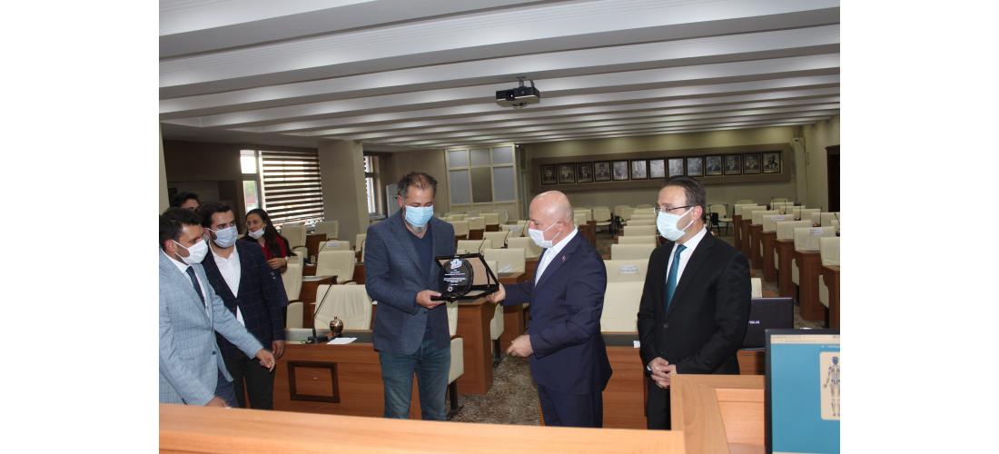 Erzurum Büyükşehir Belediye Başkanı'na  Teşekkür Ziyareti