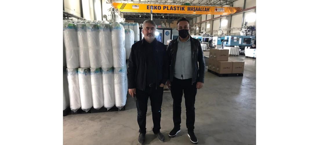 Erko Plastik`e Ziyaret