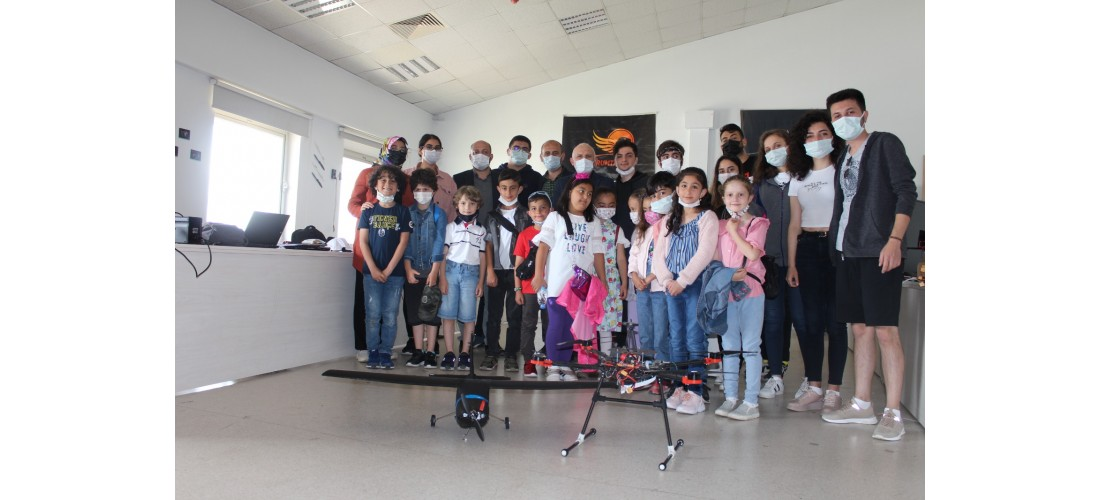 Başöğretmen İlkokulu Öğrencileri Teknolojiyle Buluştu