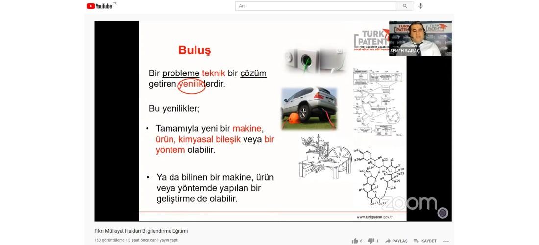 Türk Patent ve Marka Uzmanlarından Fikri Mülkiyet Hakları Bilgilendirme Eğitimi